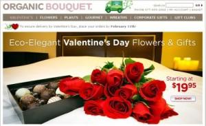Organic flower shop